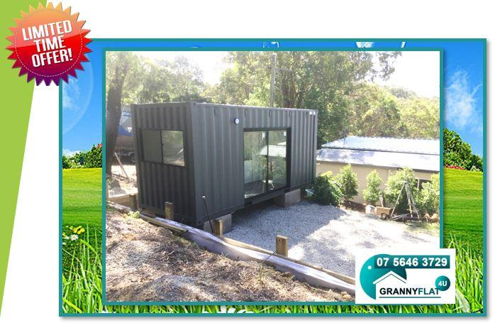 Get a Quote 20ft High Cube Portable  Container Home Sunshine Coast